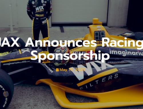 JAX kommer sponsra amerikansk tävlingsföraren
